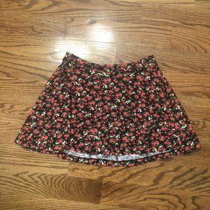 PacSun La Hearts Small Floral Skirt